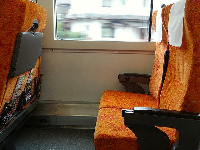 特急日光の座席