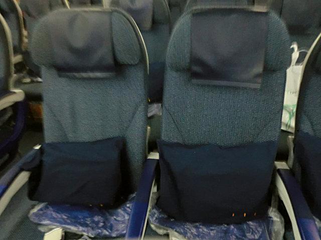 ANAウィーン線の座席