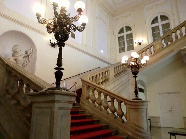 ウィーン王宮礼拝堂の入口