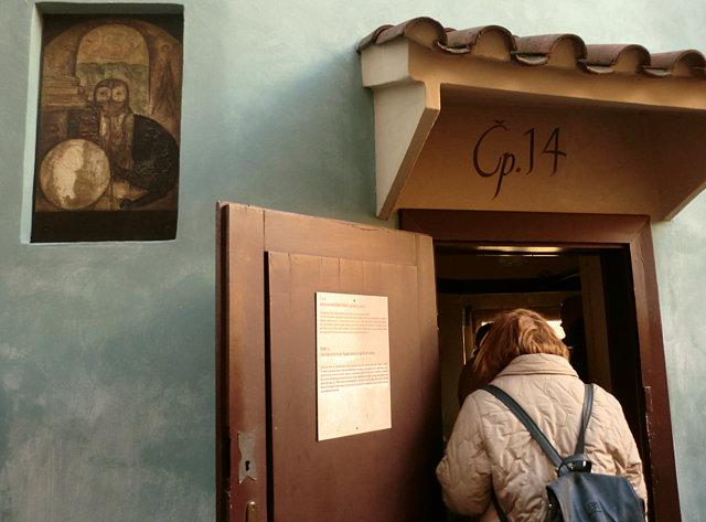 プラハ城黄金小路