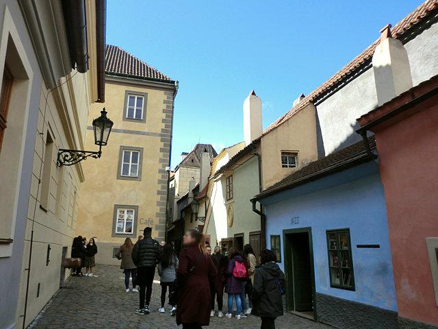プラハ城 黄金小路