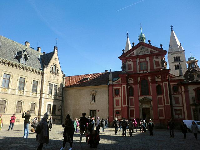 プラハ城イジー教会