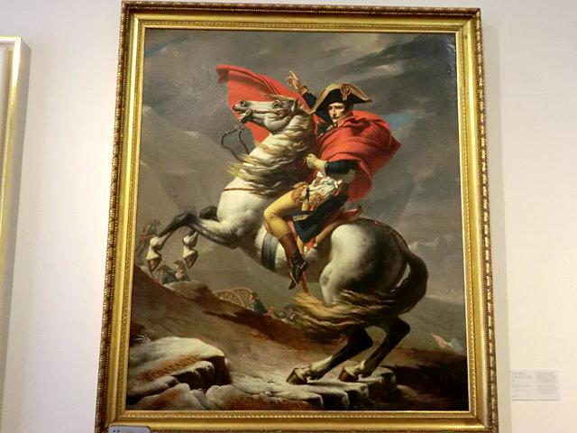 ベルヴェデーレ上宮 ナポレオン