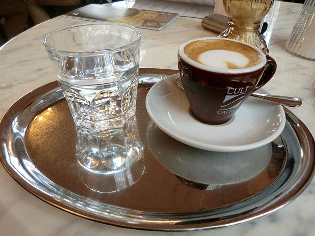 ウィーン ベルヴェデーレ宮殿上宮カフェ