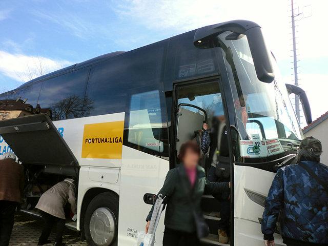 チェコ鉄道バス代替輸送