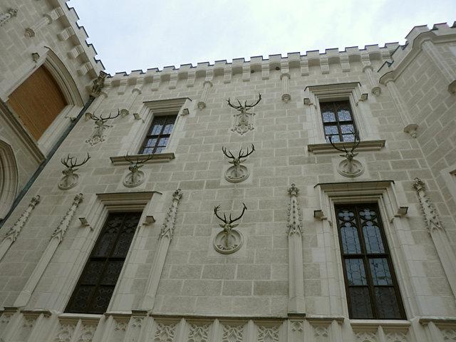 フルボカー城中庭