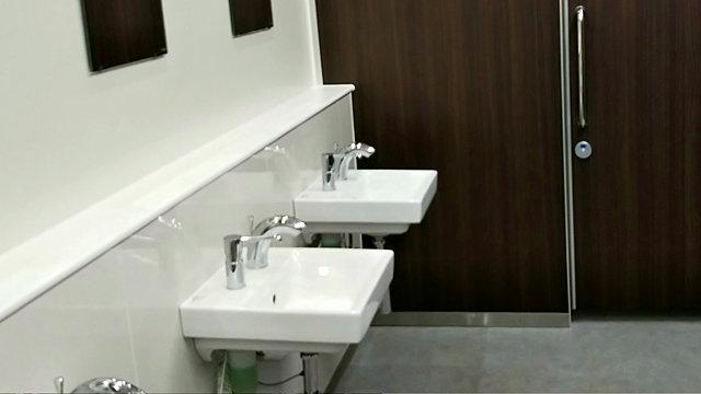 大宮公園球場のトイレ