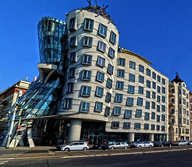 プラハのダンシングハウス