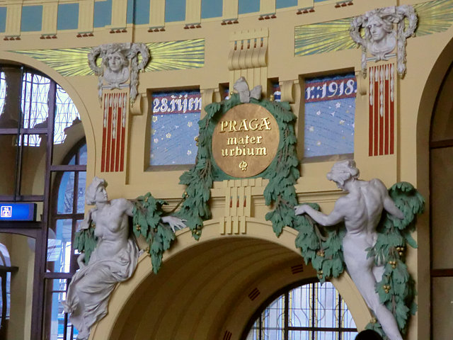 プラハ本駅