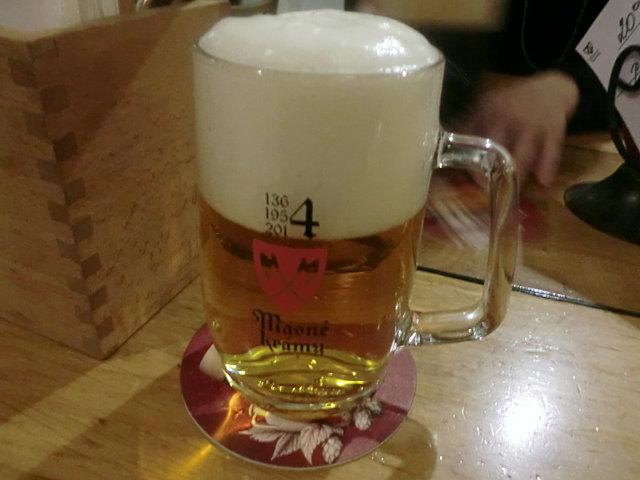 ブドヴァイザー社のビール