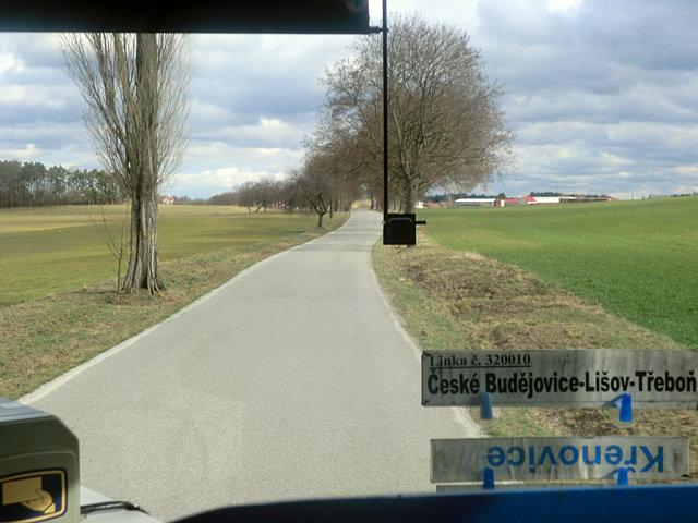 ホラショヴィツェから帰るバス