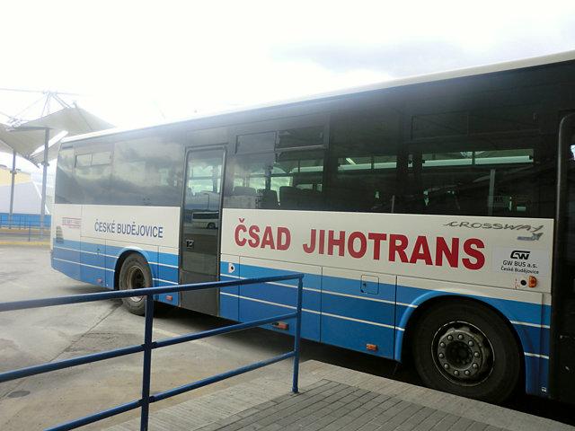ホラショヴィツェ行きのバス
