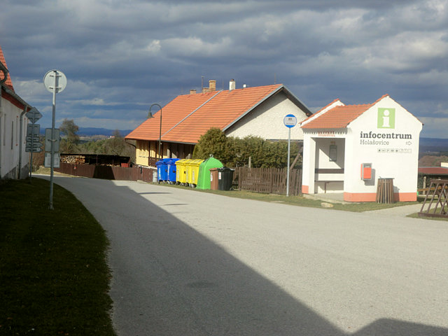 ホラショヴィツェのバス停