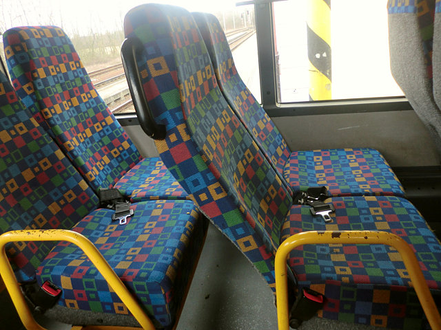 チェコ鉄道の振り替え輸送のバス