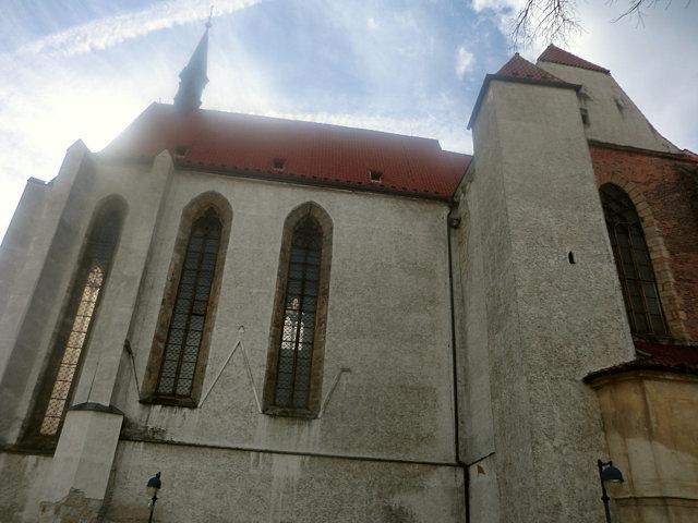 チェスケー・ブディェヨヴィツェの修道院