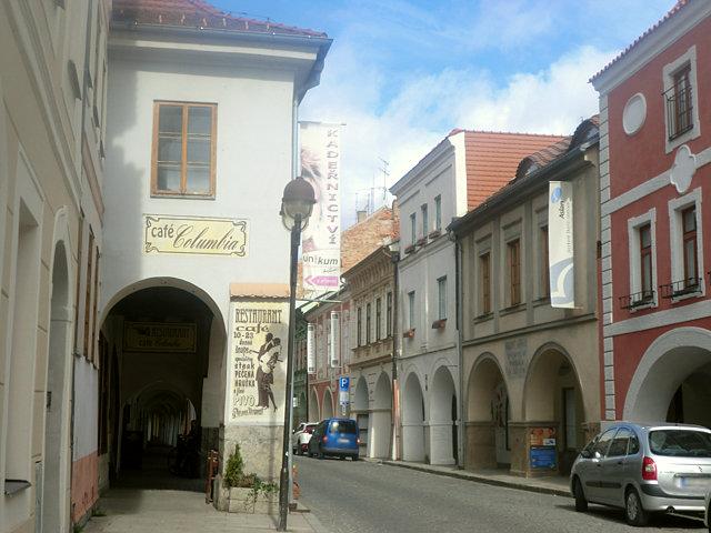 チェスケー・ブディェヨヴィツェ旧市街