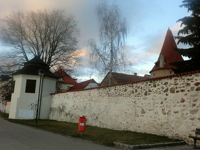 チェスケー・ブディェヨヴィツェの城壁