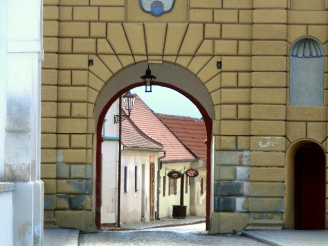 チェスキー・クルムロフのブディェヨヴィツェ門