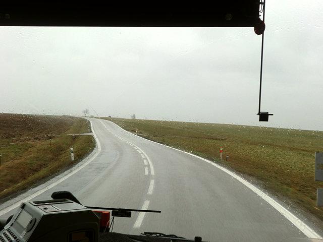 トジェボン行きのバス