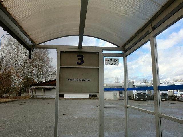 トジェボンのバスターミナル