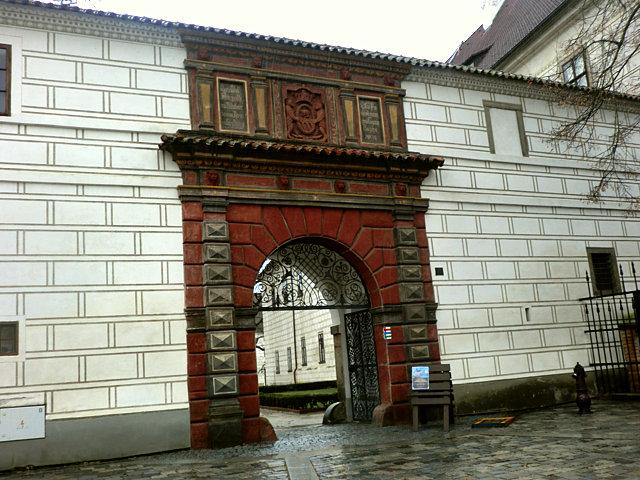 トジェボン城入口