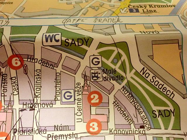 チェスケー・ブディェヨヴィツェの地図