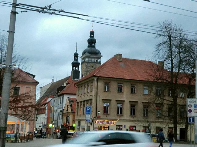 チェスケー・ブディェヨヴィツェ旧市街入り口
