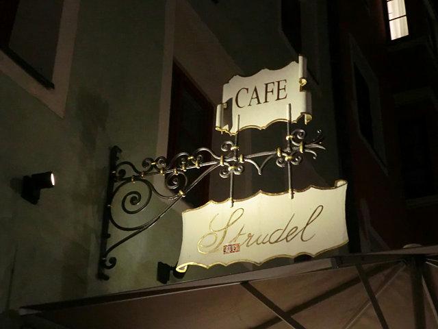 インスブルックのカフェ
