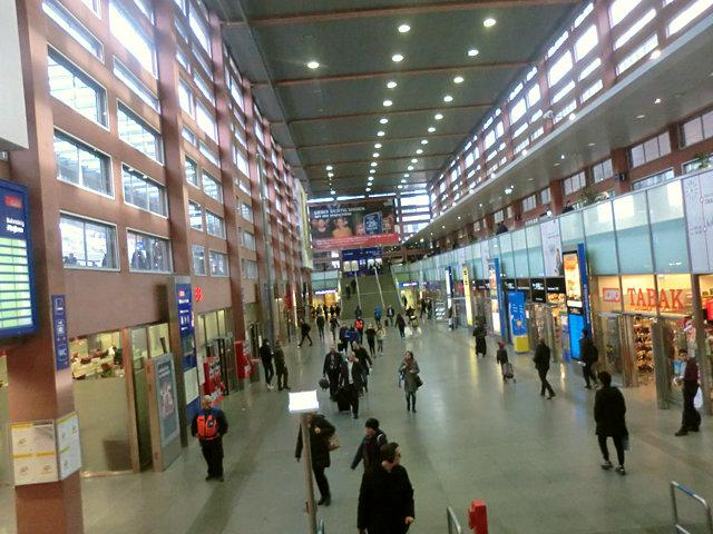 インスブルック鉄道駅
