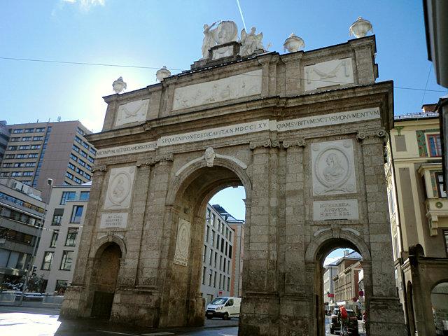 インスブルックの凱旋門