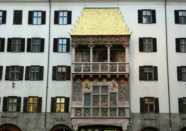 インスブルック黄金の小屋根