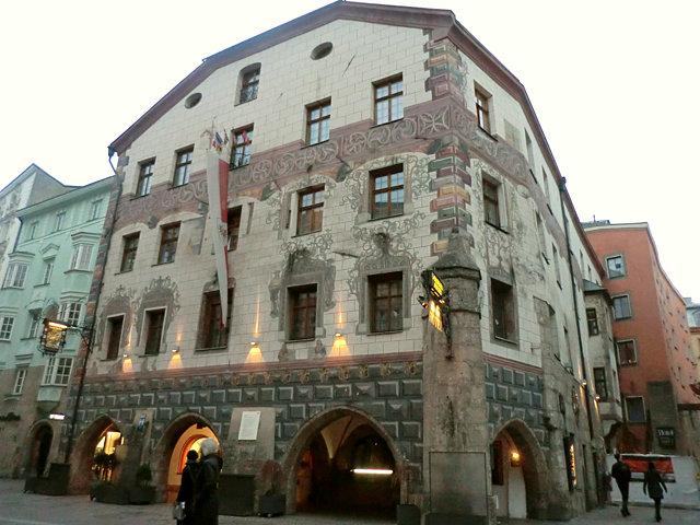 インスブルックのホテル・ゴルデナー