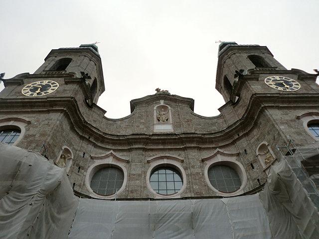 インスブルック聖ヤコブ寺院