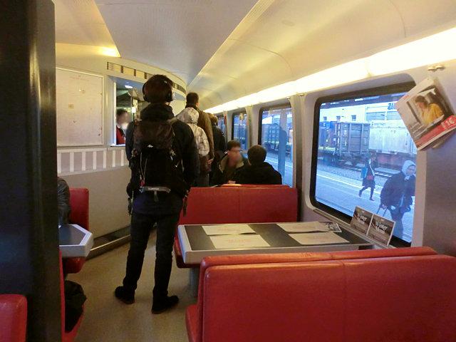 オーストリア鉄道食堂車