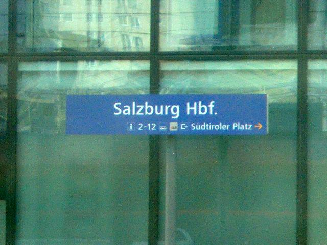 ザルツブルク駅