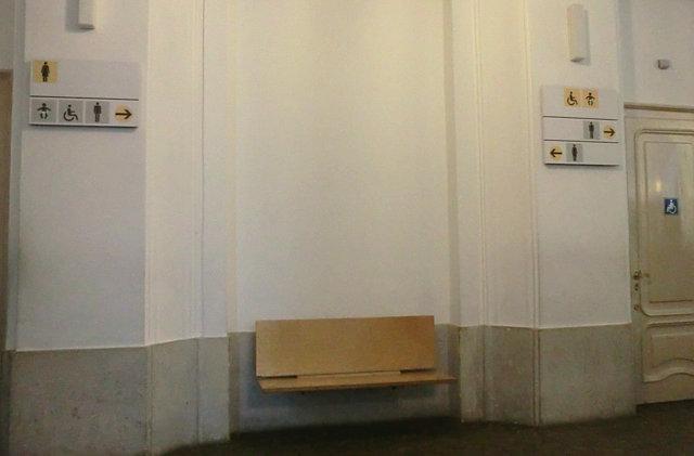 シェーンブルン宮殿トイレ