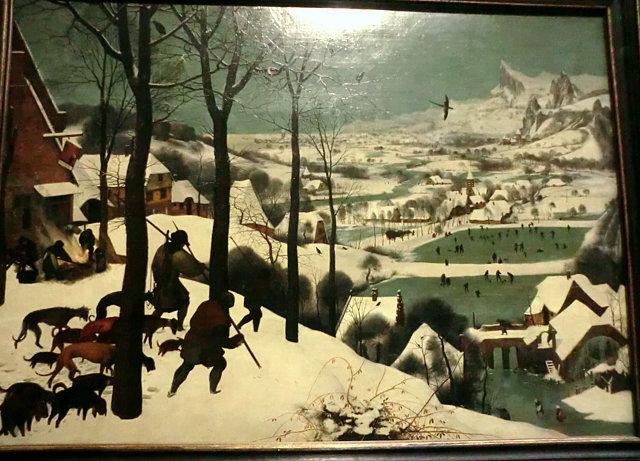 ウィーン美術史美術館ブリューゲル