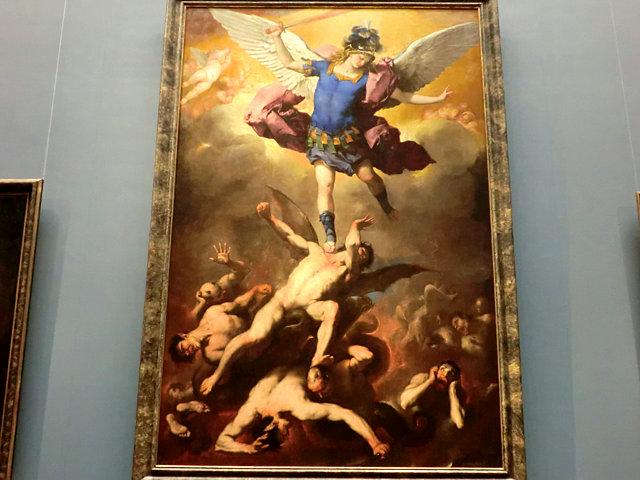 ルカ・ジョルダーノ「大天使ミカエル」