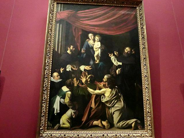 ウィーン美術史美術館カラヴァッジョ