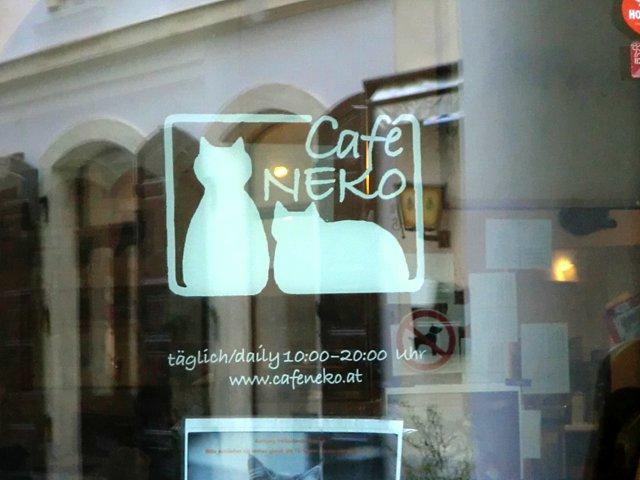 ウィーンのカフェ・ネコ