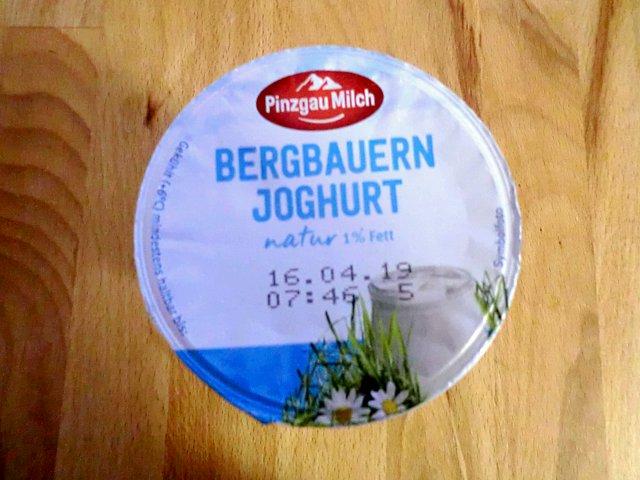 ユリウス・マインルで買ったヨーグルト