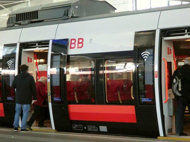 OBBの電車