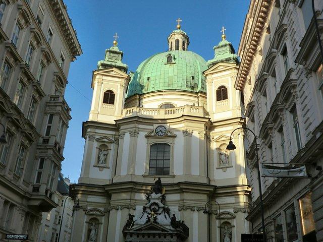 ウィーン ペーター教会
