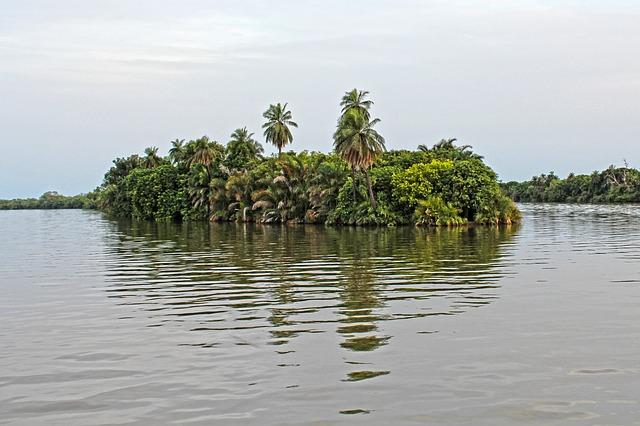 アフリカの川