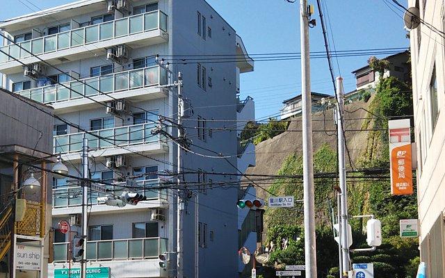 星川駅近く