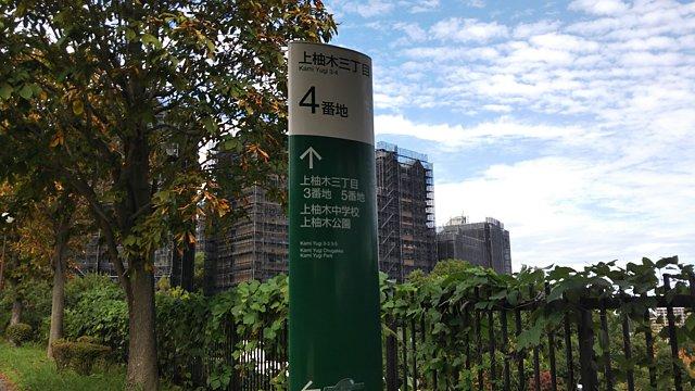 南大沢の遊歩道