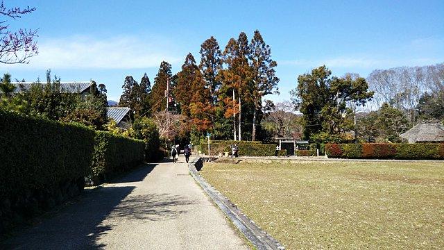 嵐山から嵯峨への道