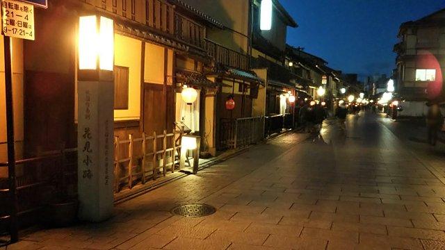 祇園の夜景