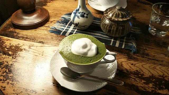 藍花珈琲店茶プチーノ