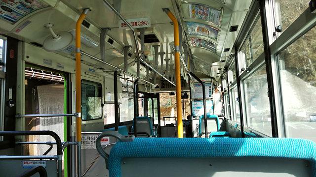 五箇山相倉行きバス